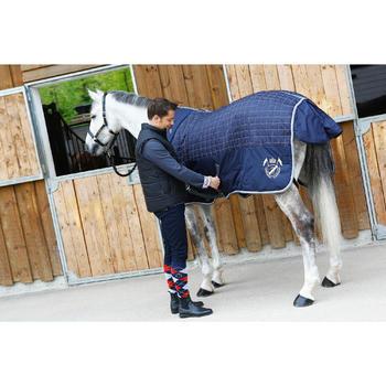 Leren halster voor pony en paard Romeo zwart