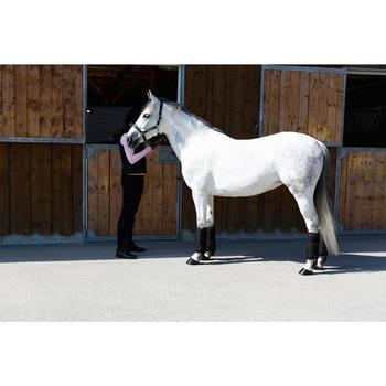 Licol équitation poney et cheval ROMEO cuir - 417008