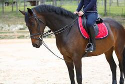 Slofteugels leer en koord ruitersport Romeo - 417014