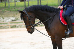 Slofteugels leer en koord ruitersport Romeo - 417019