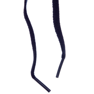 Пласкі шнурівки - Чорні