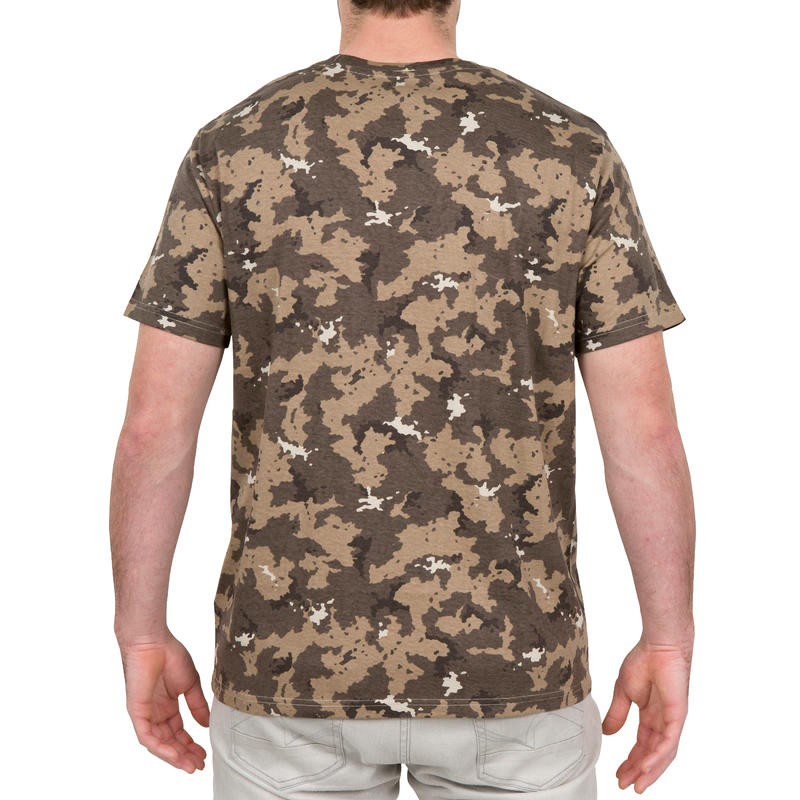 Camiseta SG100 Manga Corta Camuflaje Marrón