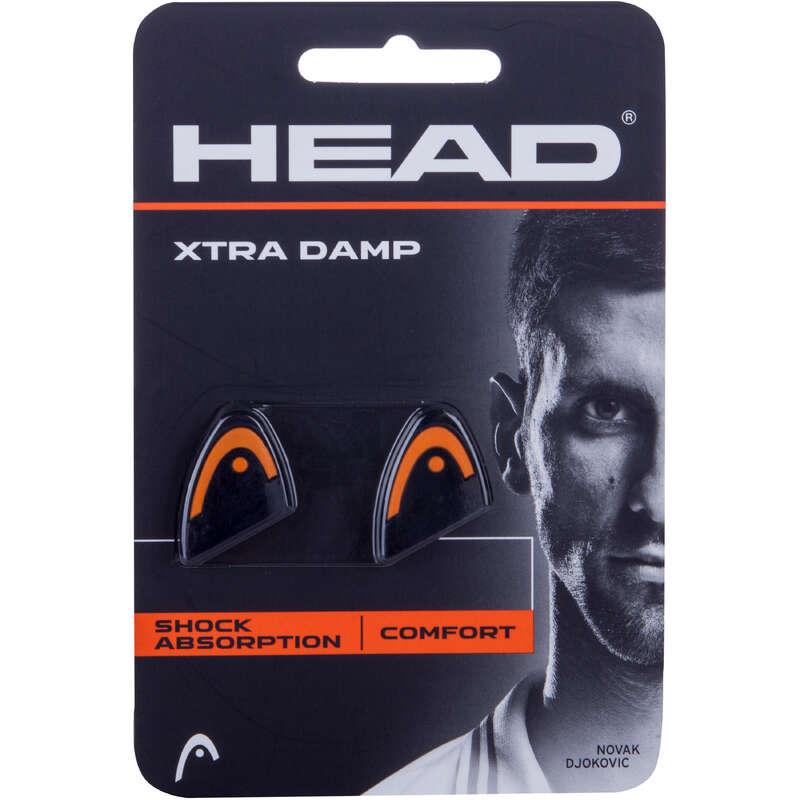 RACKETS ACCESSORIES Squash - Xtra Damp Dampener HEAD - Squash BLACK
