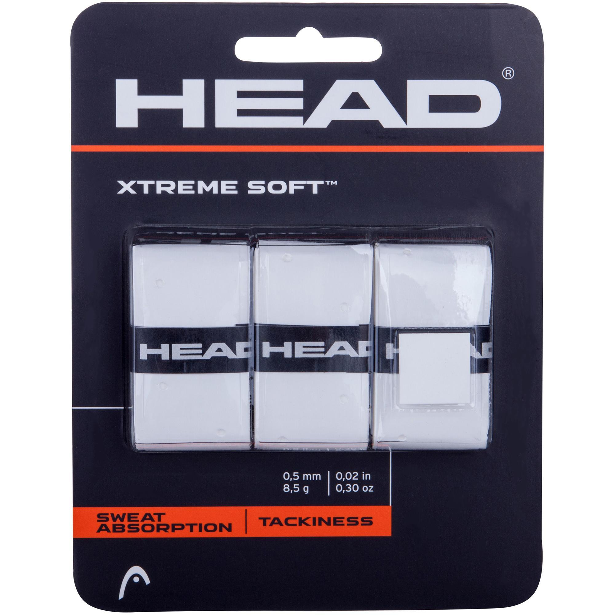 2 Pack Tennis Grips Overgrip Grip Head Xtreme Soft 10