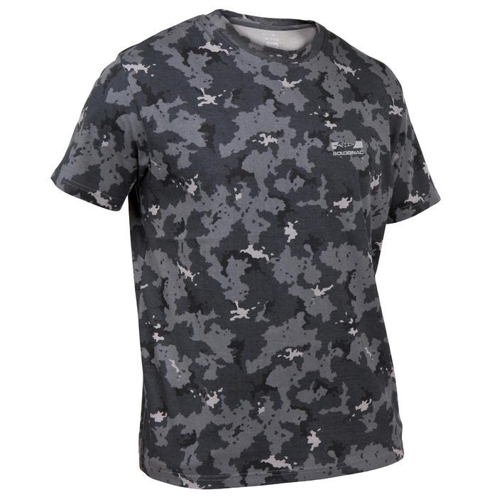 Tee shirt steppe 100  manches courtes - 41723