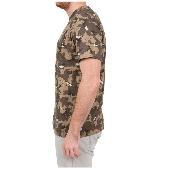 Tee shirt steppe 100  manches courtes - 41727