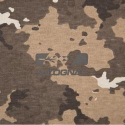 Jagersshirt met korte mouwen 100 camouflagebruin