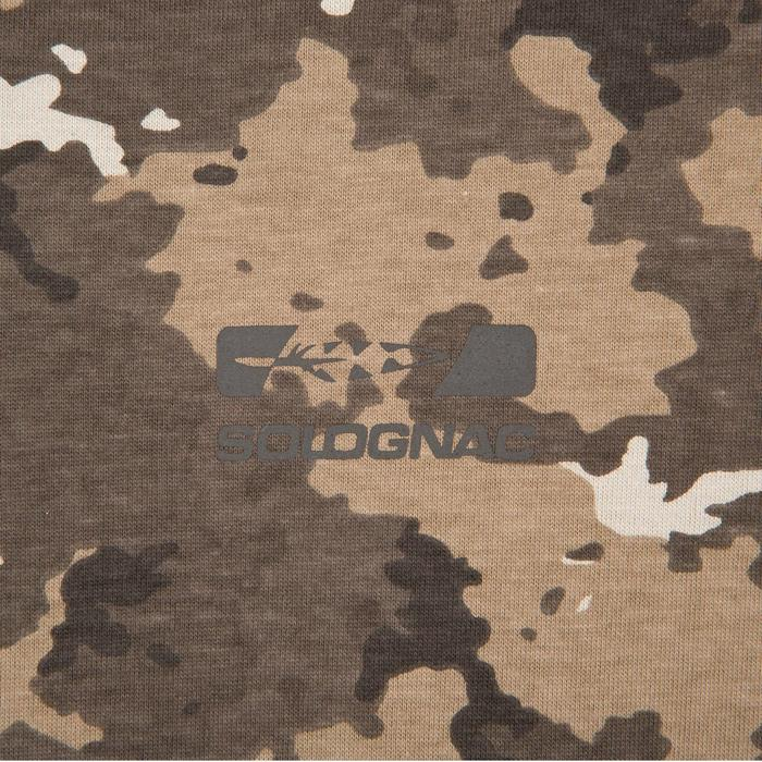 Tee shirt steppe 100  manches courtes - 41728