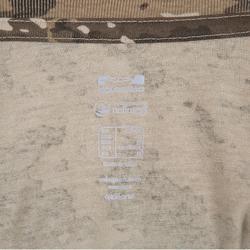 Camiseta Caza Solognac SG 100 Adulto Manga Corta Camuflaje Marrón