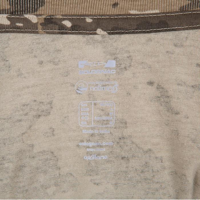 Tee shirt SG100 manches courtes camouflage marron