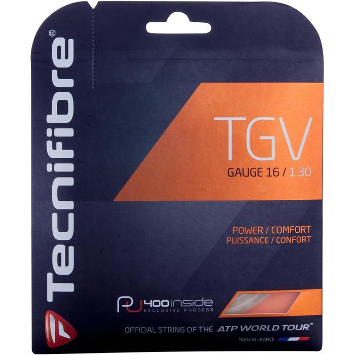 CORDAGE DE TENNIS TECNIFIBRE TGV 1,35 mm - 417292