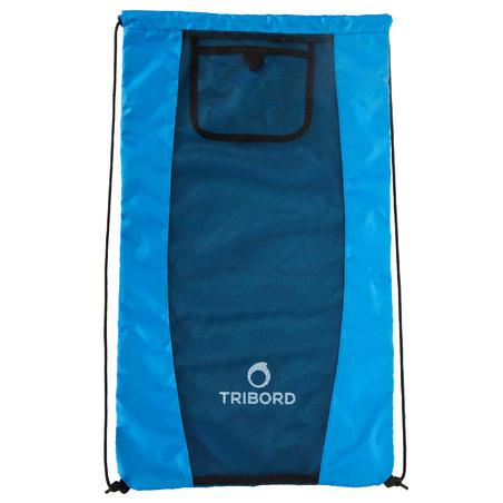 Fins, mask and snorkel bag - Blue