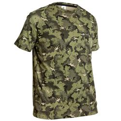 Tee shirt SG100 manches courtes camouflage vert
