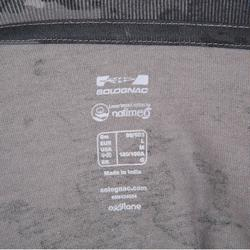 Jagd-T-Shirt 100 Camouflage grau