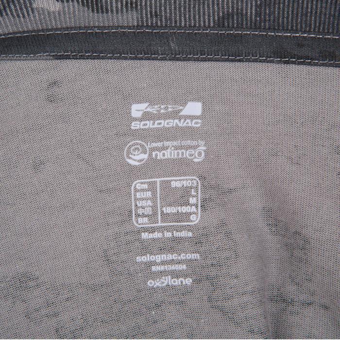 Tee shirt steppe 100  manches courtes - 41737