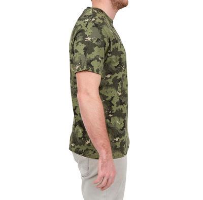 Camiseta SG100 manga corta camuflado verde