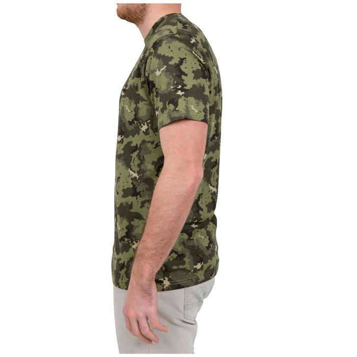 Tee shirt SG100 manches courtes camouflage vert