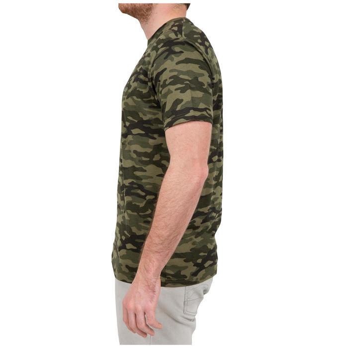 SG100 Short Sleeved T-Shirt Camouflage Green