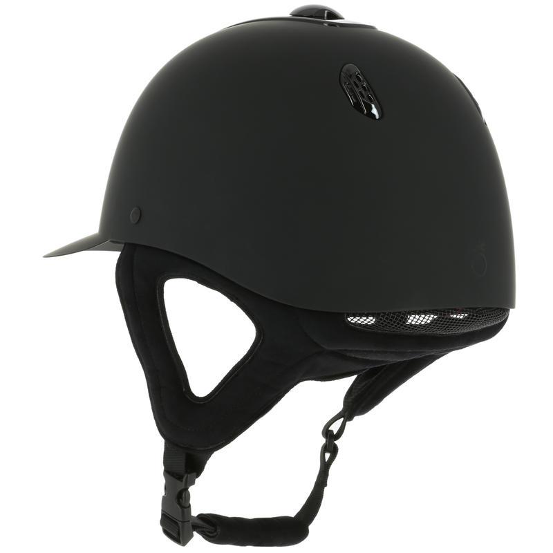 Casco Equitación C700 Negro Mate