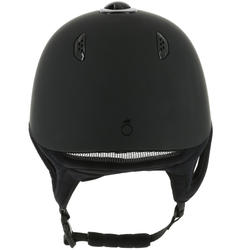 C700 Horseback Riding Helmet - Matte Black