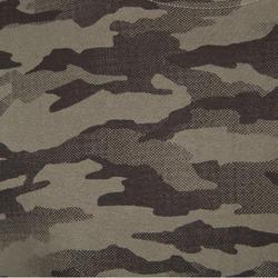 T-shirt Steppe 100 met lange mouwen camouflage Island - 41776