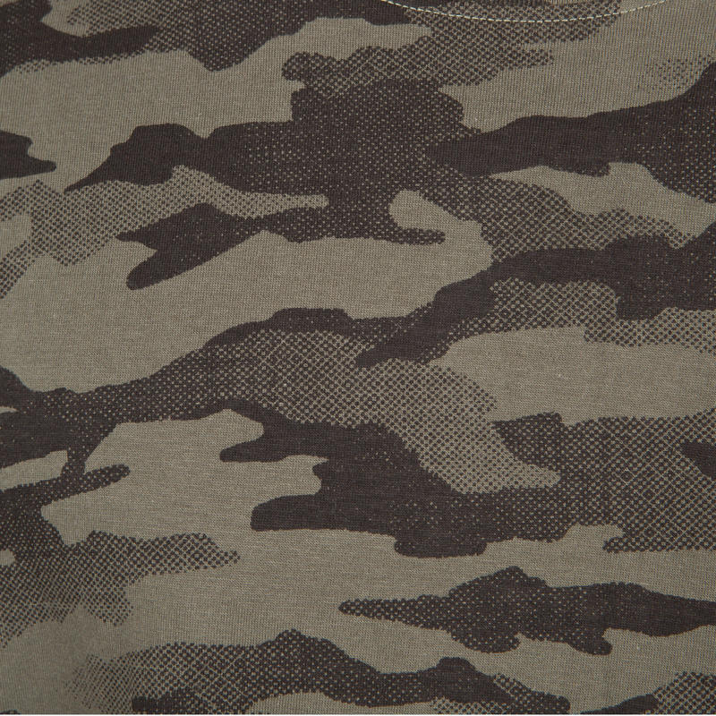 Men's Full Sleeve T-Shirt 100 Half-Tone Camo