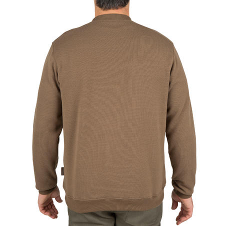 Hunting Pullover 100 - Brown