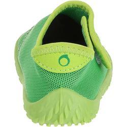 Escarpines Cangrejeras Zapatillas Acuáticas de Snorkel Subea Bebé / Niños Verde