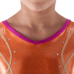 Mouwloos turnpakje gym meisjes (AG en RG) Lign+ - 418152