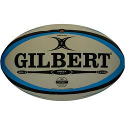 Rugbybal Omega maat 5 blauw/zwart