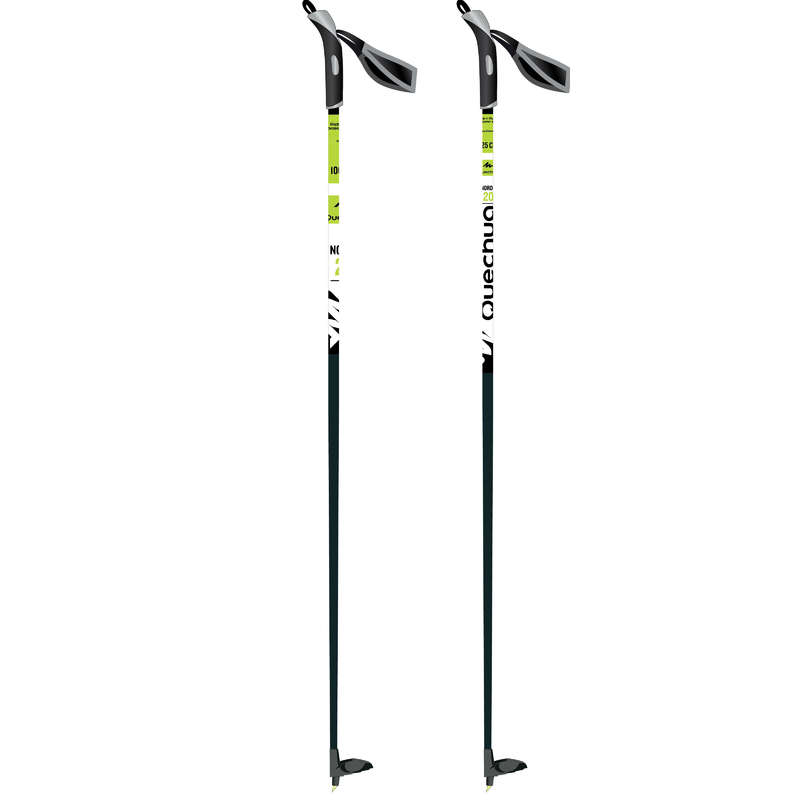 ЛЫЖНЫЕ ПАЛКИ ДЛЯ КРОСС-КАНТРИ Беговые лыжи - Лыжные палки Nordic 20 INOVIK - Беговые лыжи