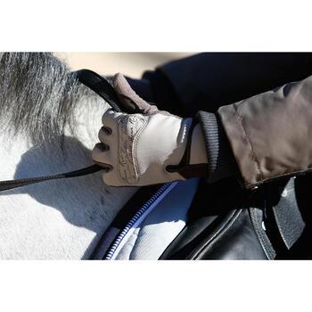 Gants équitation adulte KIPWARM - 418788