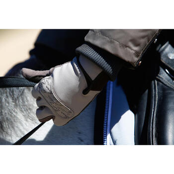 Gants équitation adulte KIPWARM - 418789