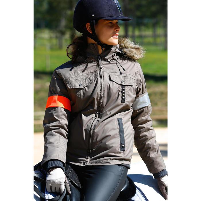 Gants équitation adulte KIPWARM - 418790
