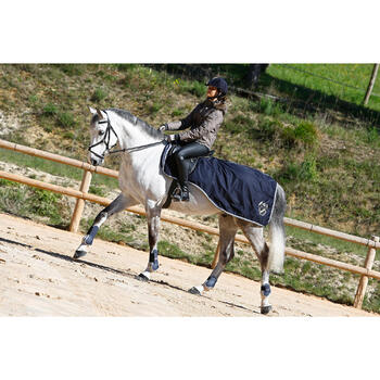 Gants équitation adulte KIPWARM - 418792