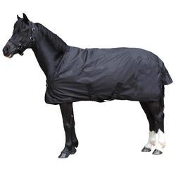 Couverture d'extérieur équitation ALLWEATHER 200 noir - taille poney