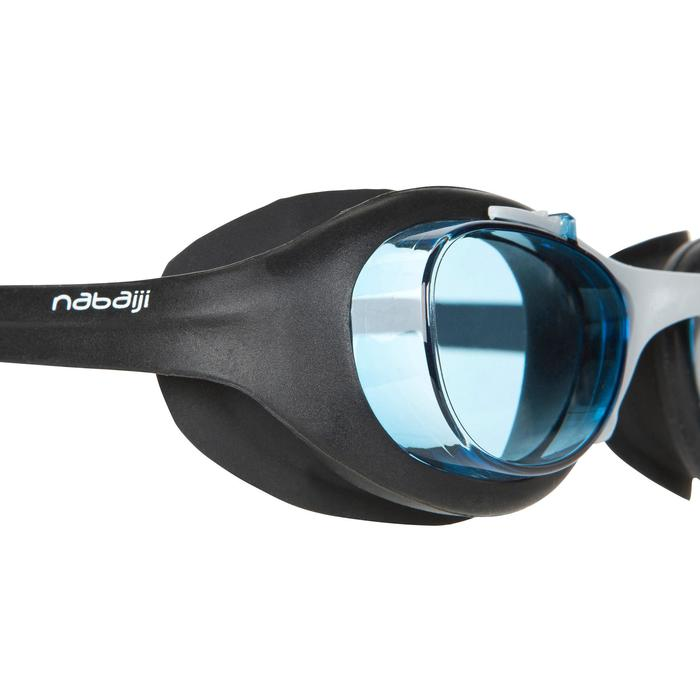 XBASE Swimming Goggles Size L - Black - 419848