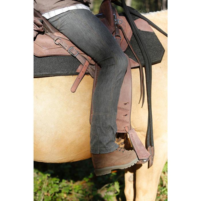 Wanderreitsattel Escape Wanderreiten Pferd braun