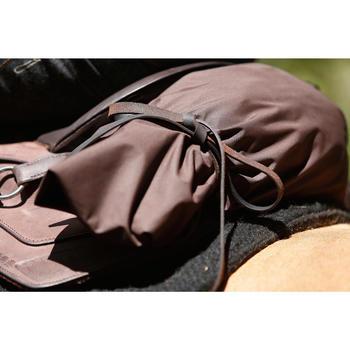 Selle équitation randonnée cheval ESCAPE marron - 420155