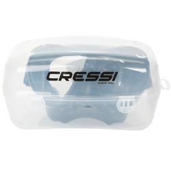 Duikmasker F1 Cressi zwart frameless - 420178
