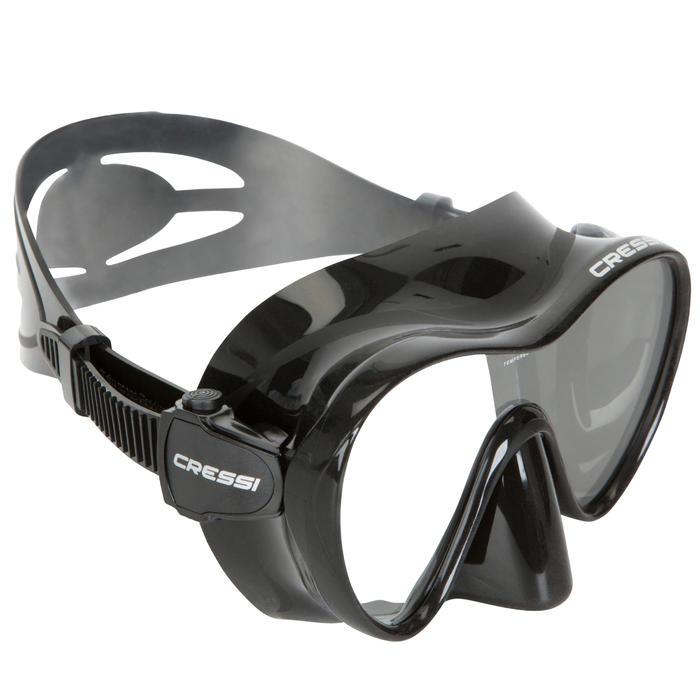 Tauchmaske F1 Frameless schwarz