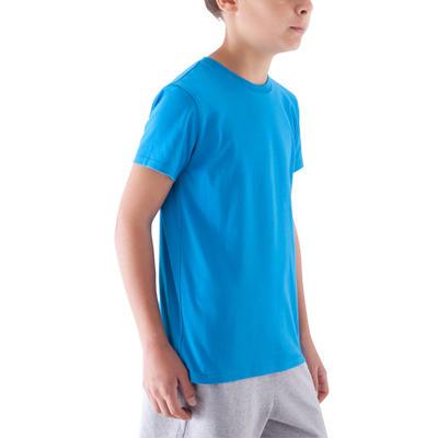 T-shirt gym garçon Sportee bleu