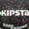 Voetbal Hardground maat 5 zwart groen roze - 42051