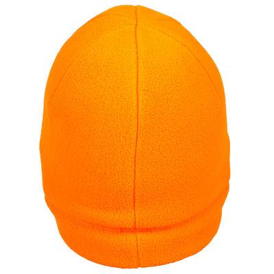 Флісова шапка 100 для полювання - Помаранчева
