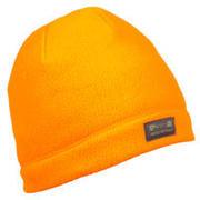 Oranžna lovska kapa iz flisa 100