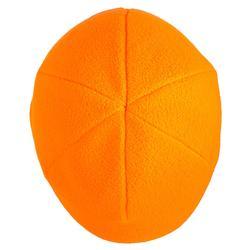 Fleece muts voor de jacht 100 oranje