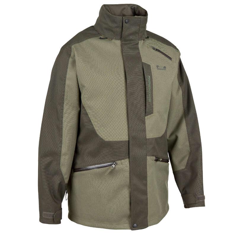 REINFORCED WARTERPROOF CLOTHING Shooting and Hunting - SUPERTRACK 300 WATERPROOF JACKET  SOLOGNAC - Hunting and Shooting Clothing