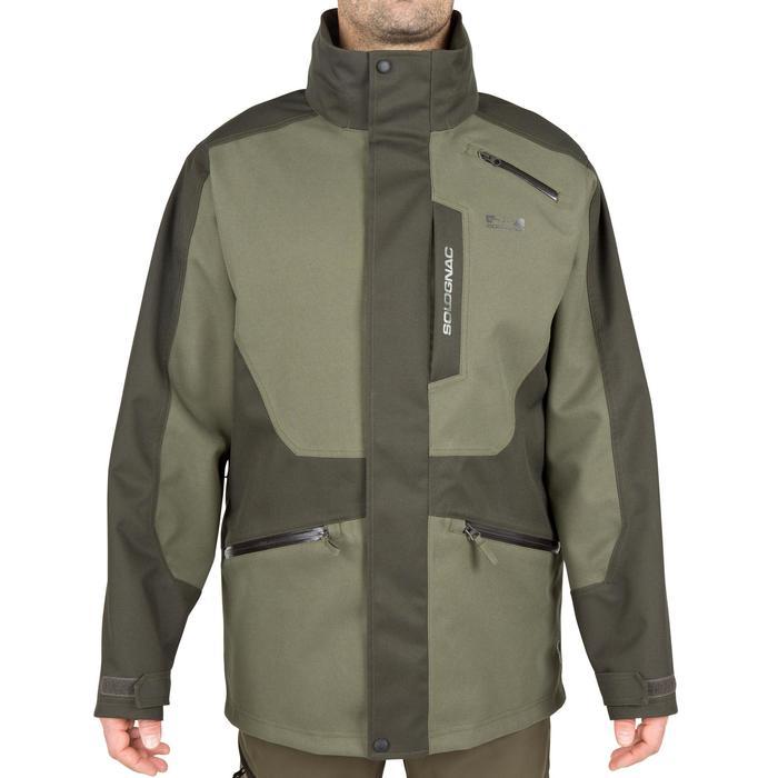 Veste chasse Supertrack 300 imperméable vert - 42200