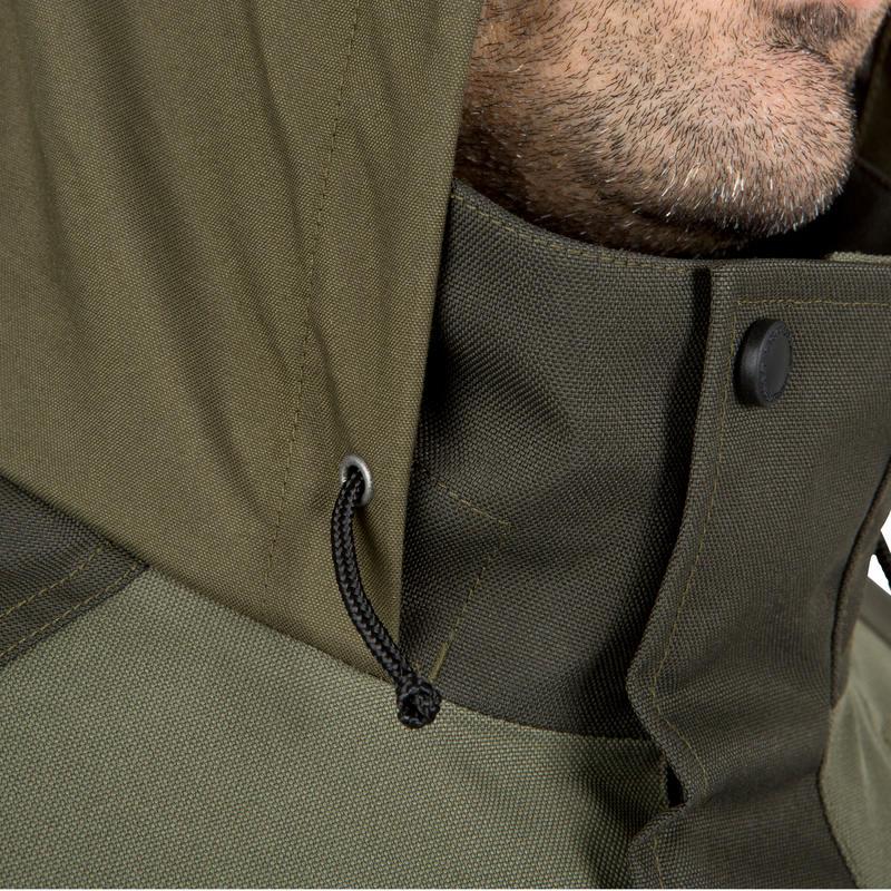 Hunting Waterproof Stalking Jacket Supertrack 300 - Green