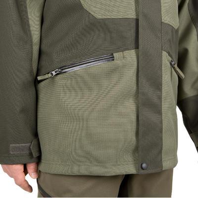 Куртка Supertrack 300 для полювання, водонепроникна - Зелена